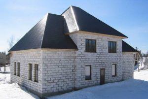 Применение блока ГРАС в малоэтажном строительстве