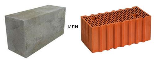 Пеноблок или керамический блок что выбрать