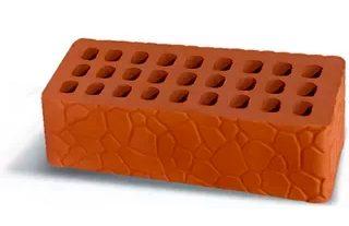 Рельефный керамический кирпич